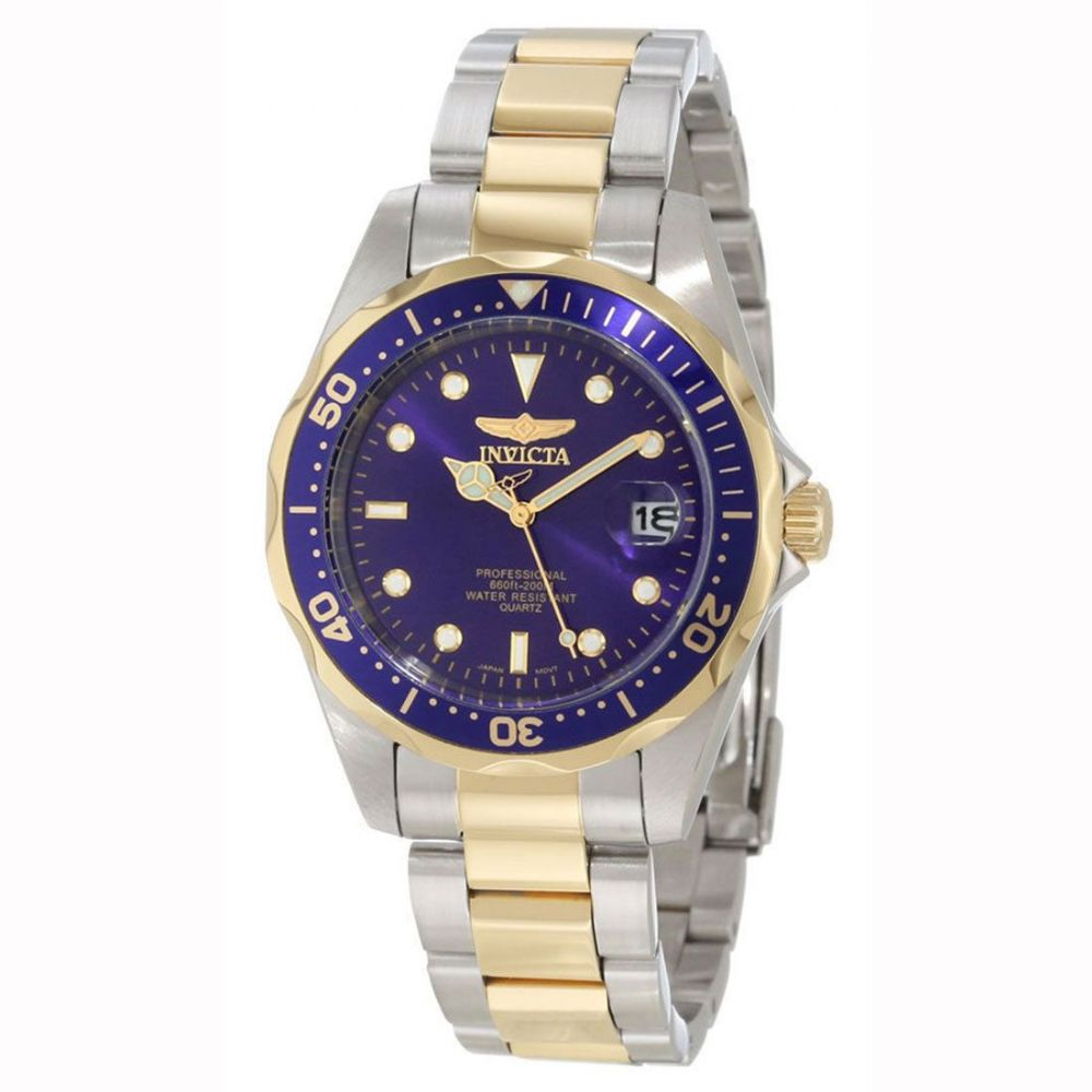 Invicta Pro Diver Sport Collection Two Tone Gents Watch 8935 5285 P on Latest Tone In Writing